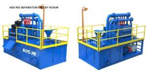 Hdd rig separation unit