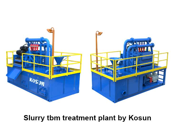 slurry tbm treatment plant