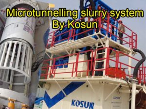 Microtunnelling Slurry System