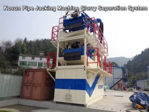 Pipe Jacking Machine Slurry Separation System