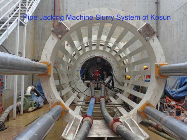 Pipe Jacking Machine Slurry System
