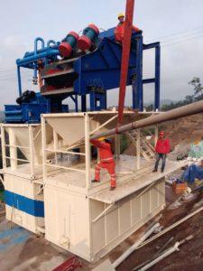 Pipe jacking Machine mud system