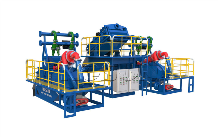 Rotary Drilling Rigs Mud System