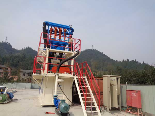 TBM slurry separation system
