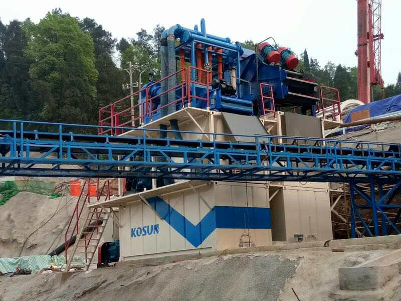 TBM Slurry Separation System for sale