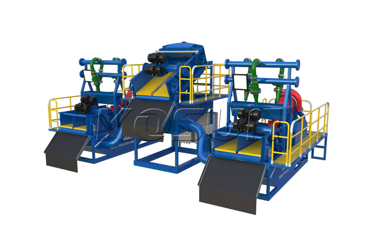 Slurry treatment plants