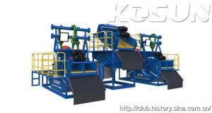 Tunnel Boring Machine Slurry Separation System