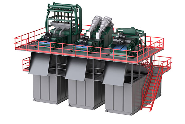 Tunneling Slurry Separation Plant
